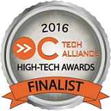 OC Technology Alliance 23rd Annual High-Tech Awards Finalist 2016
